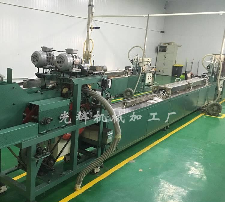 厂家直销河北全自动棉签机 高性价比自动化棉签生产机 棉签包装机图片