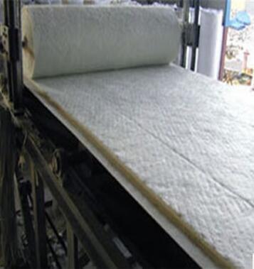 厂家供货防火耐高温硅酸铝纤维毯 陶瓷纤维毯 硅酸铝针刺毯示例图8