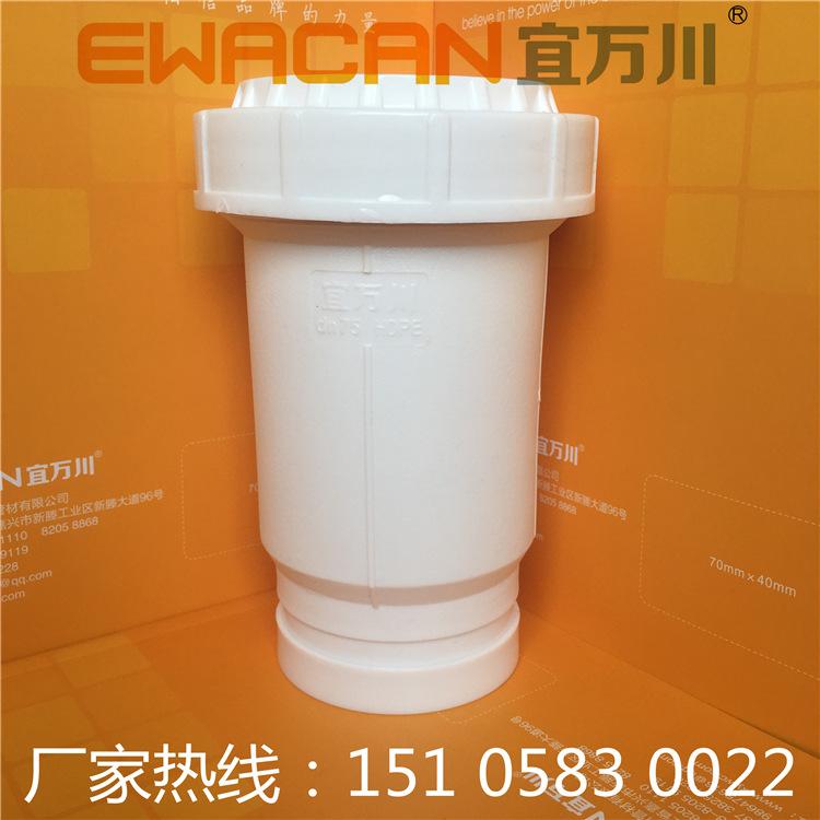 福建HDPE沟槽式超静音排水管,HDPE柔性承插排水管,ABS卡箍压环示例图4