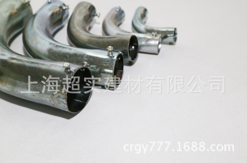 厂家直销镀锌钢管月弯 镀锌弯头,镀锌管月弯批发示例图5