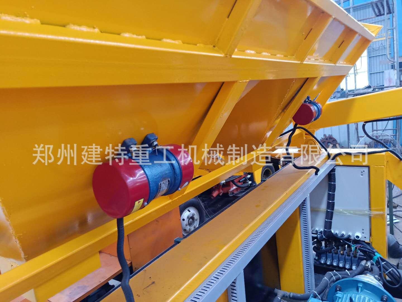 天水厂家直销一拖二混凝土喷浆车 自动上料喷浆车 喷浆设备示例图17
