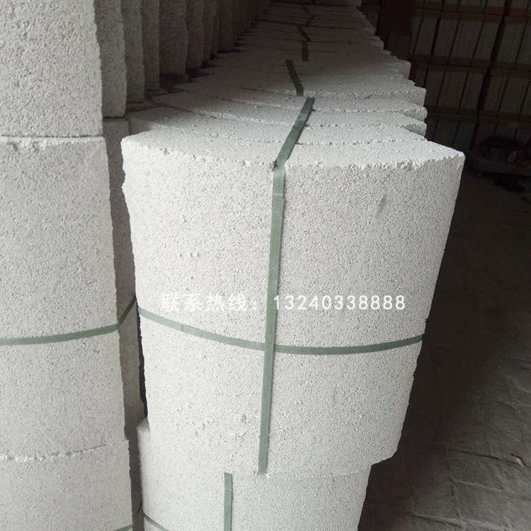 厂家直销珍珠岩瓦可定制珍珠岩保温瓦保温材料壳珍珠岩防火管示例图10