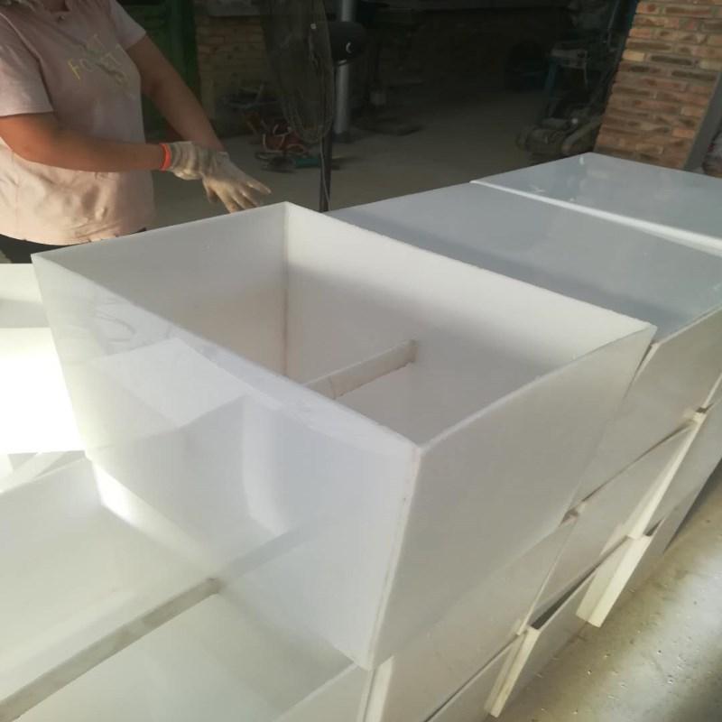 裁断机垫板 聚丙烯厂家直销 白色pp板材PE可焊接酸洗槽批发零售示例图12