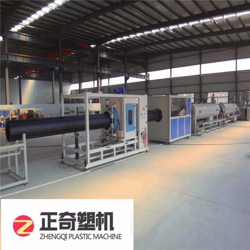 正奇塑機ZQSJ-HDPE廠家直供高速穩定 16-2000 大口徑pe管材生產線