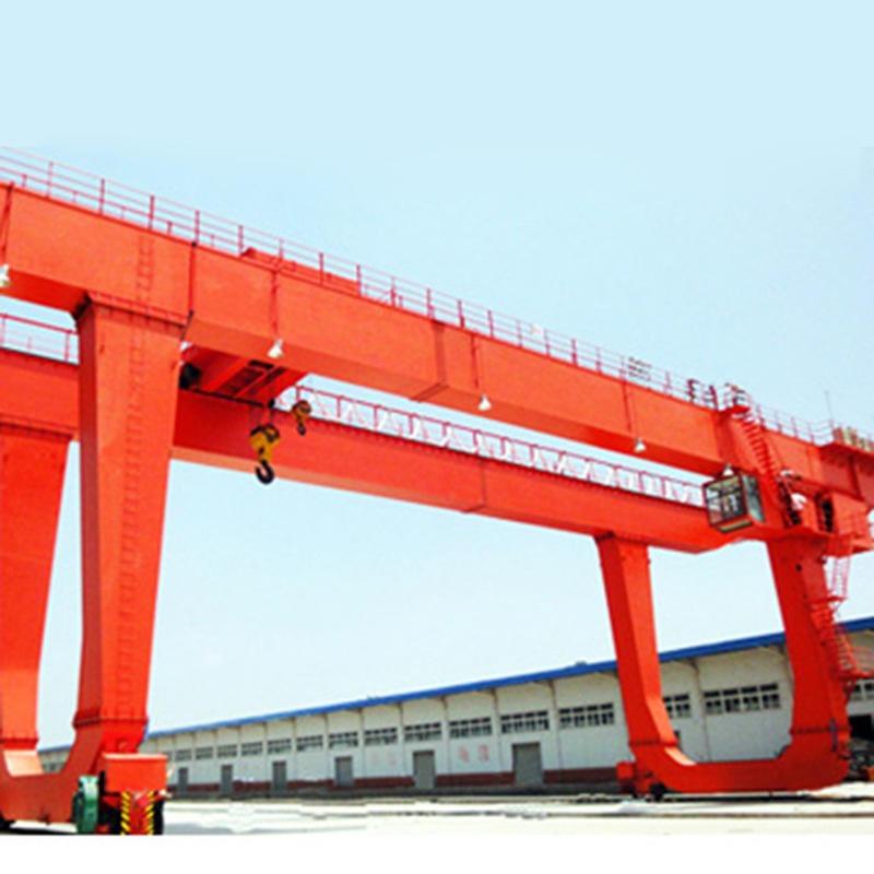 中輝  廠家出售   雙主梁門式起重機 多種型號  港口集裝箱門式起重機