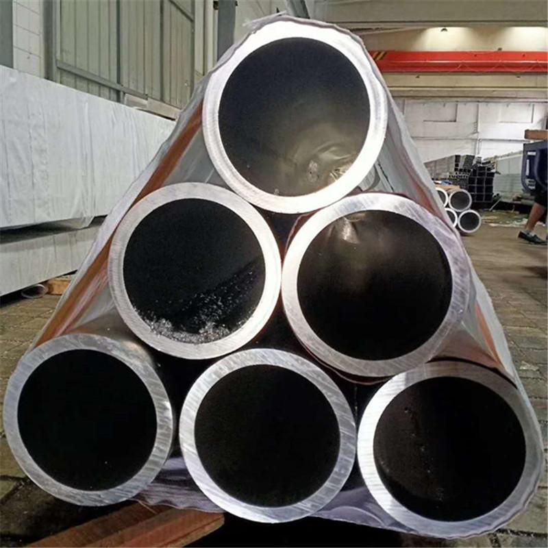 现货6061铝合金圆管 贺航国标厚壁铝管 大口径铝管规格全 长度可切割示例图8
