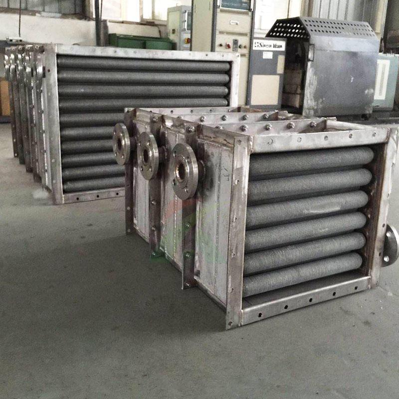 蒸汽换热器 翅片管式换热器 散热器 宽信直销