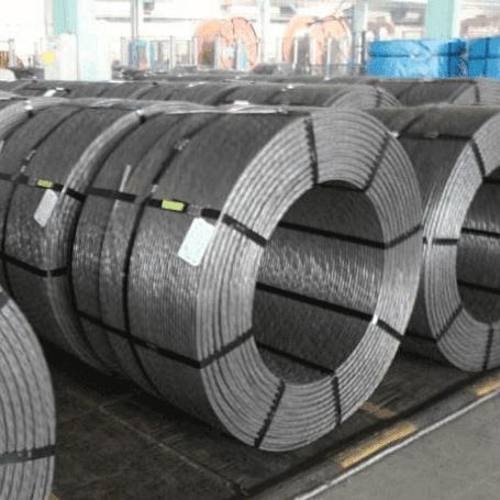 預應力鋼絞線 生產廠家 無粘結鋼絞線 鋼絞線錨具