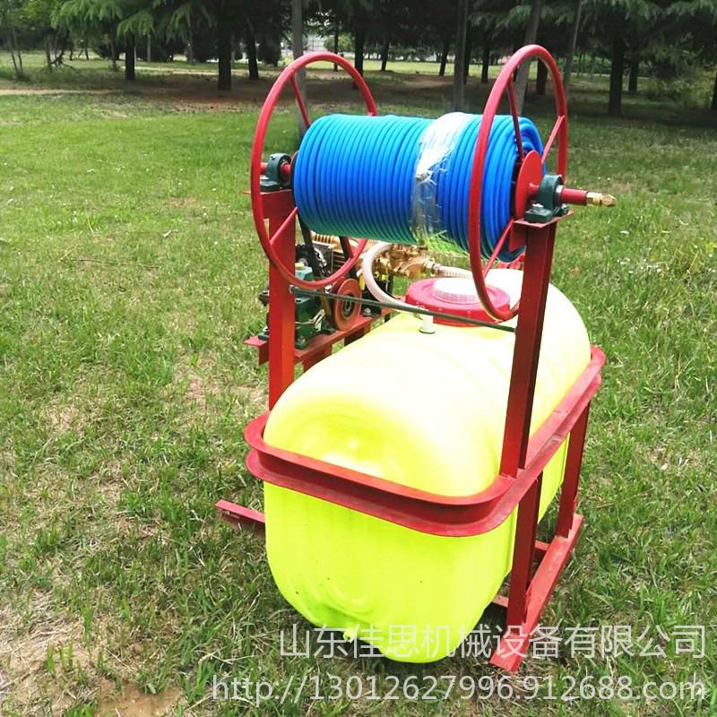 拖拉机悬挂喷雾机 自动卷管打药机  杀虫喷雾机 8米折叠喷杆喷药机  四轮车带的打药机