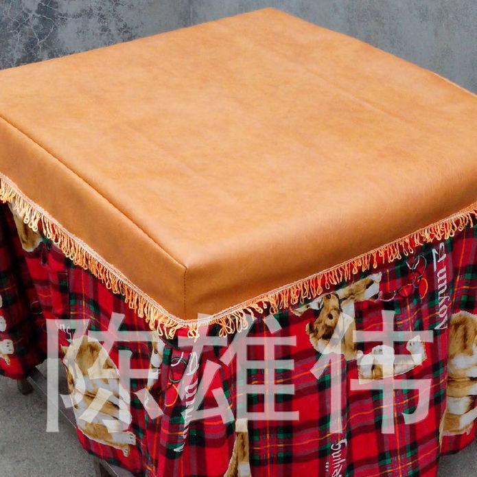 皮革桌布批发 皮革桌布 防尘皮子桌罩 欢迎订购示例图3