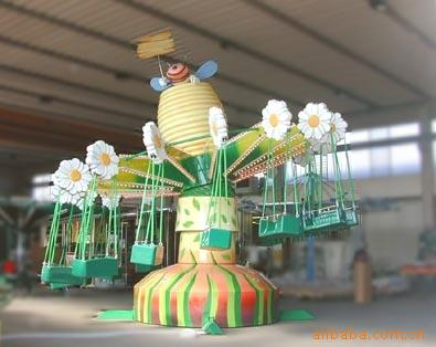 北京游乐设备厂直销新型游乐设施 摇头飞椅 室内外游乐设备示例图2