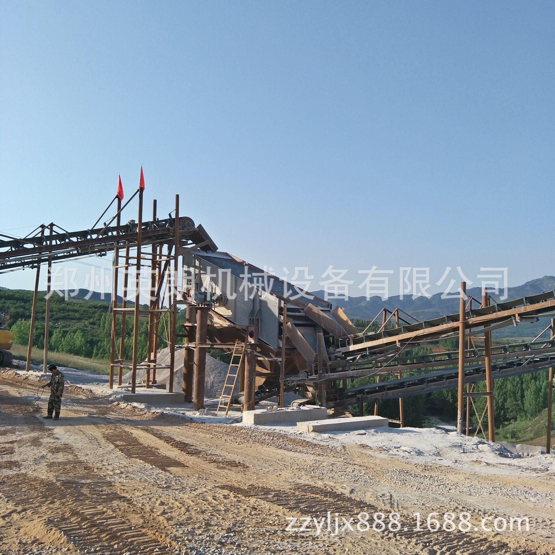新型高效石料生产线 石料制砂生产线 花岗岩矿石破碎生产线报价示例图4