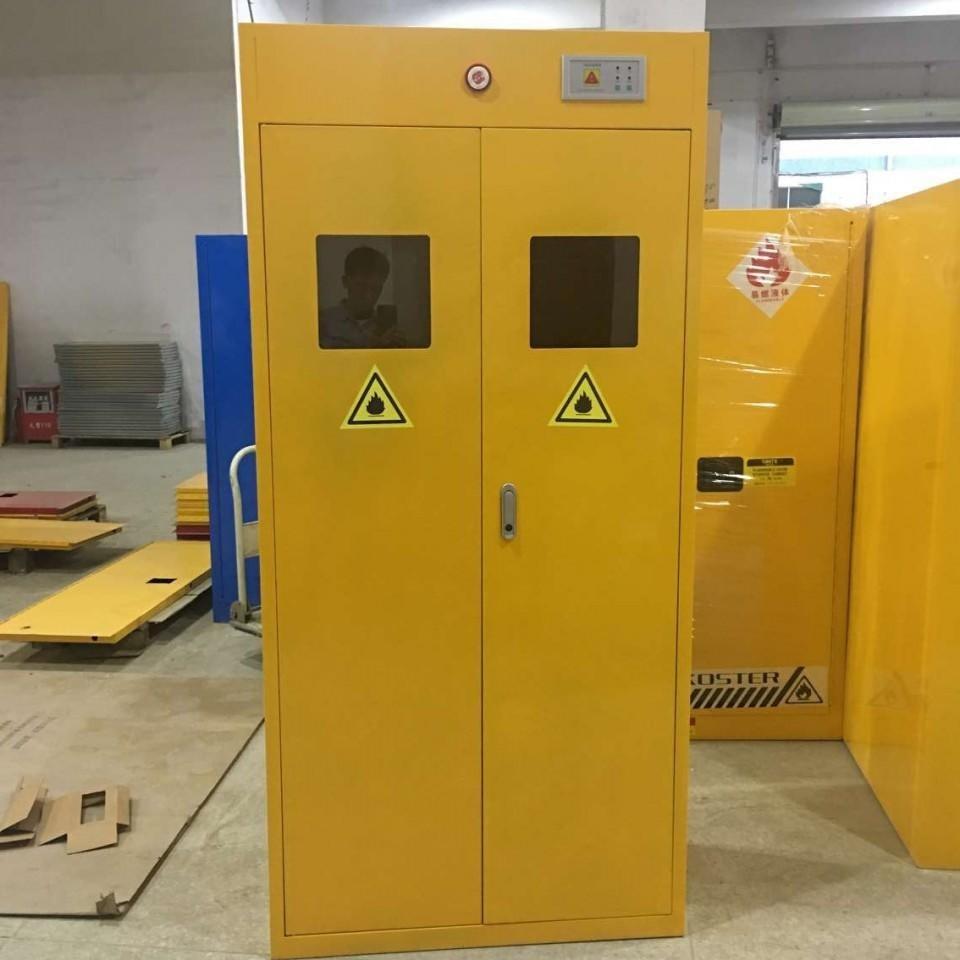 WZLAB 河南郑州气瓶柜 WZ-QPG 智能报警气瓶柜 工业煤气柜 厂家制作