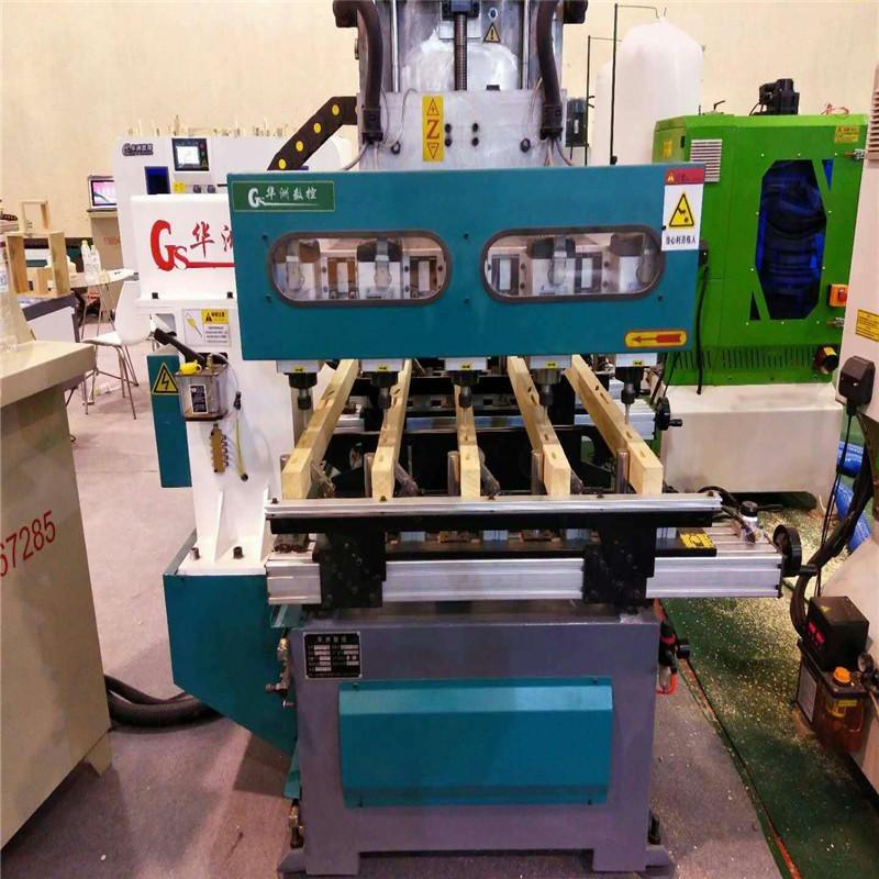 華洲hz-2環保數控榫槽機 木工母榫機 電腦打卯機