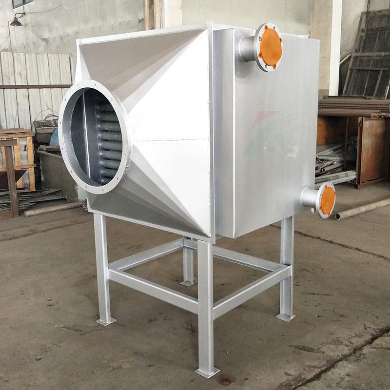 厂家定制工业热交换热器 翅片管空气蒸汽换热器 烘干专用导热油散热器 合肥宽信厂家配套定制
