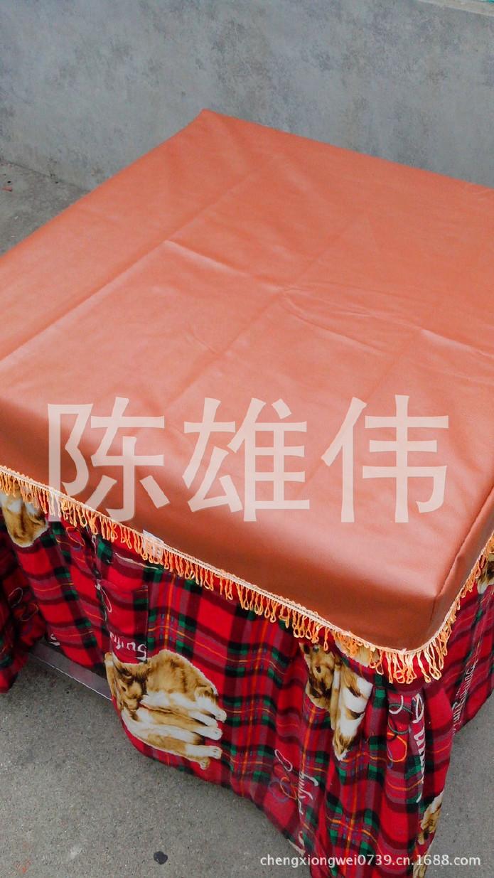 厂家直销压纹皮革桌布 皮革桌布 皮革桌布定制 欢迎订购示例图8