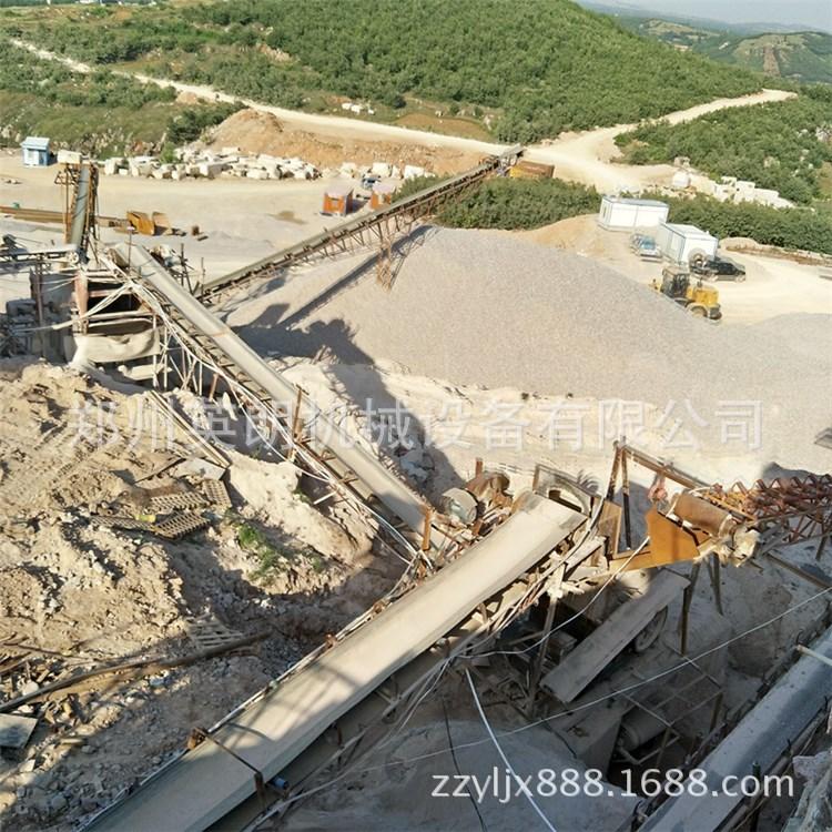 供应矿山石料开采破碎生产线 建筑青石子破碎线 鹅卵石制沙生产线示例图6