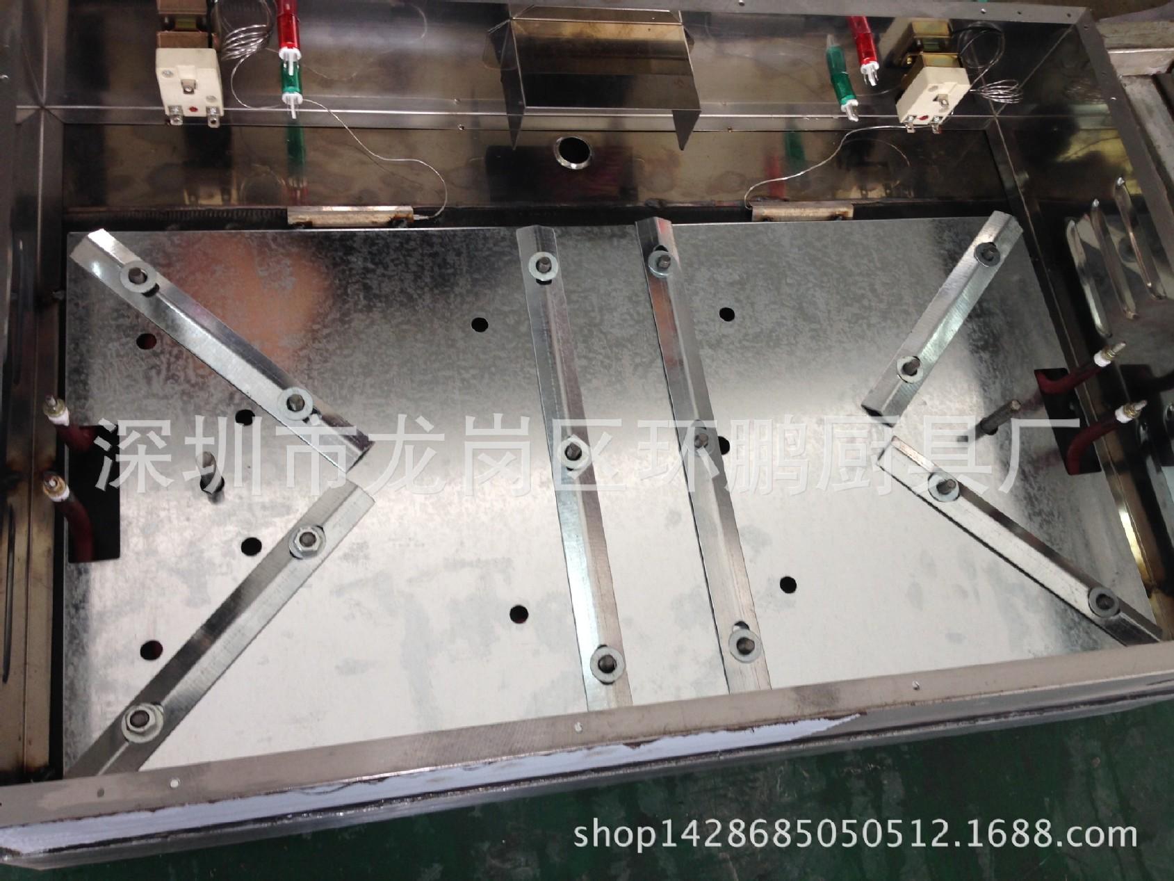 厂家直销不锈钢820电平扒炉煎饼炉加厚扒板双 4.2kw 炊事设备示例图50