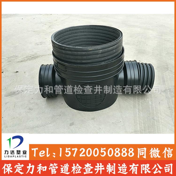 中空壁缠绕管 井壁管 HDPE双平壁缠绕管示例图6