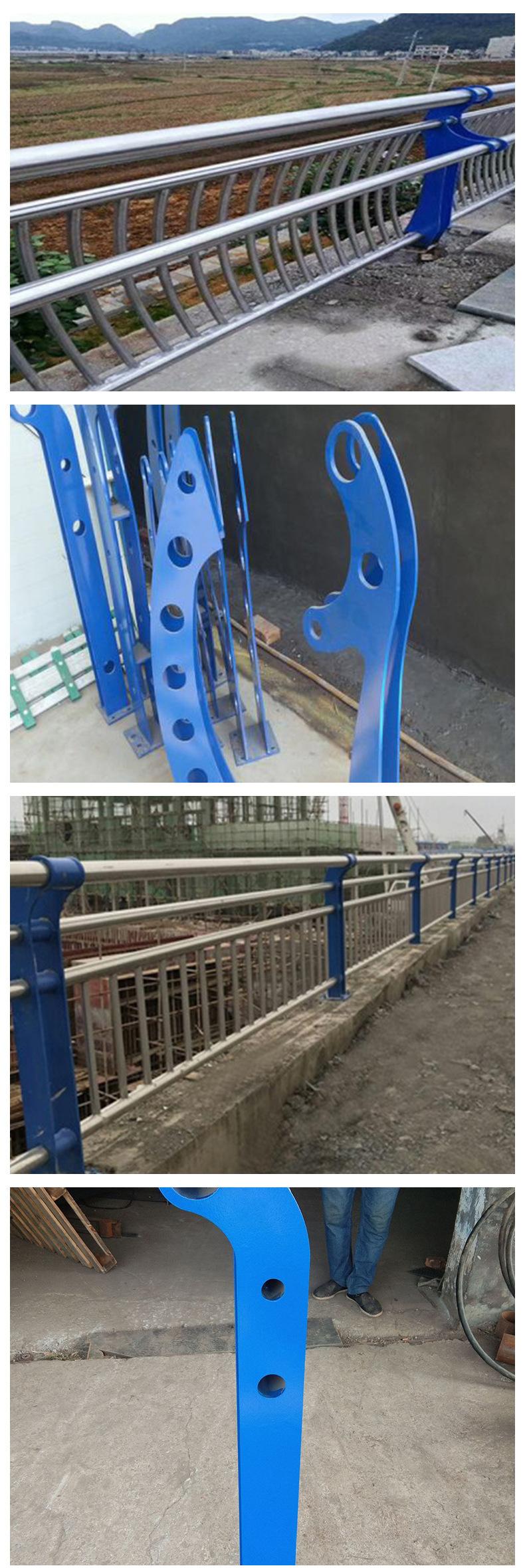 护栏立柱 景观立柱 定制立柱 图纸定制 河道护栏复合管配件示例图3