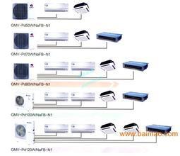 海尔中央空调14匹一拖多多联机RFC400MX4中央空调示例图3