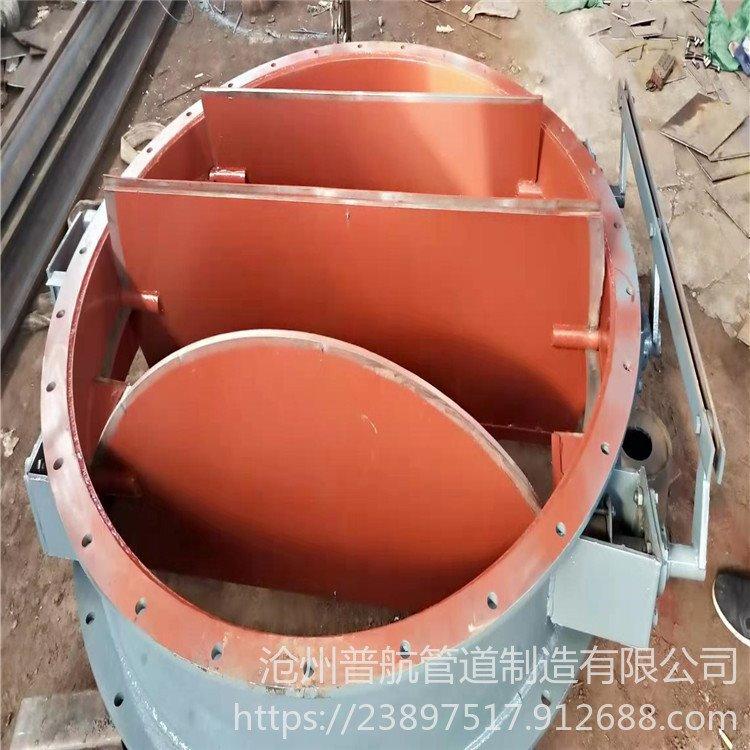 圆风门 普航 钢制焊接圆风门 无轴圆风门 专业生产