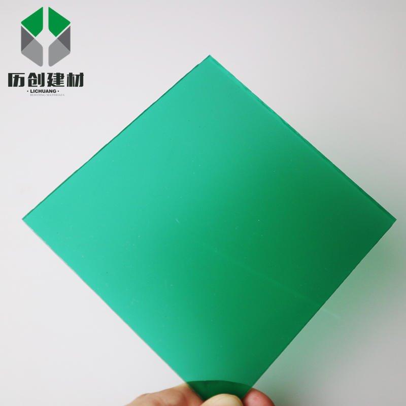深圳 pc耐力板 4mm草绿色耐力板 耐撞击、可园拱,多用途pc耐力板 厂家直销 可定制 有现货