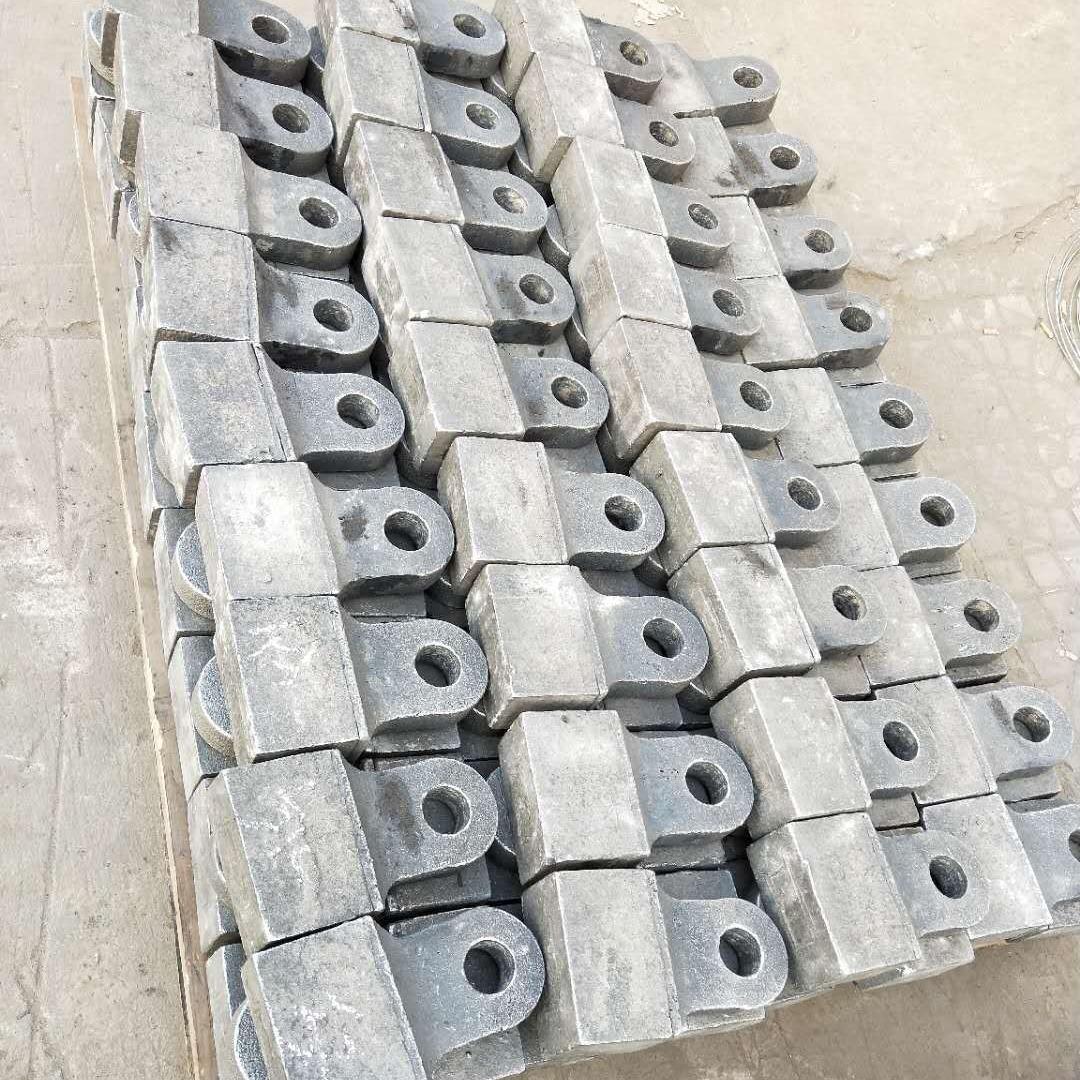 曉賀 碎機錘頭 制砂機合金錘頭 破碎機合金錘頭 燎盛高耐磨錘頭 價格 ¥280.00元