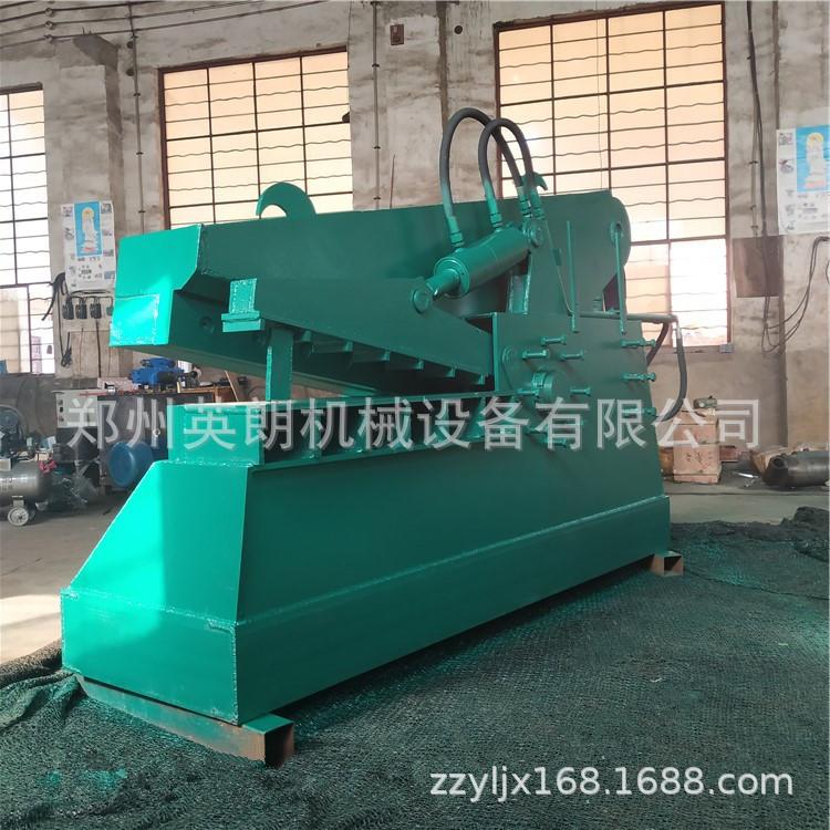 报废汽车鳄鱼剪 重型金属废料废铁剪切机 高压力200吨废钢剪断机示例图13