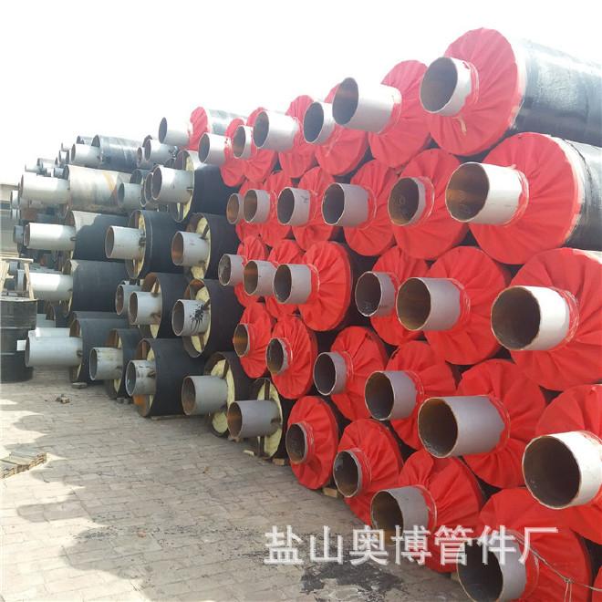 生产加工 保温钢管 预制直埋式保温钢管 定制 管中管保温钢管示例图6