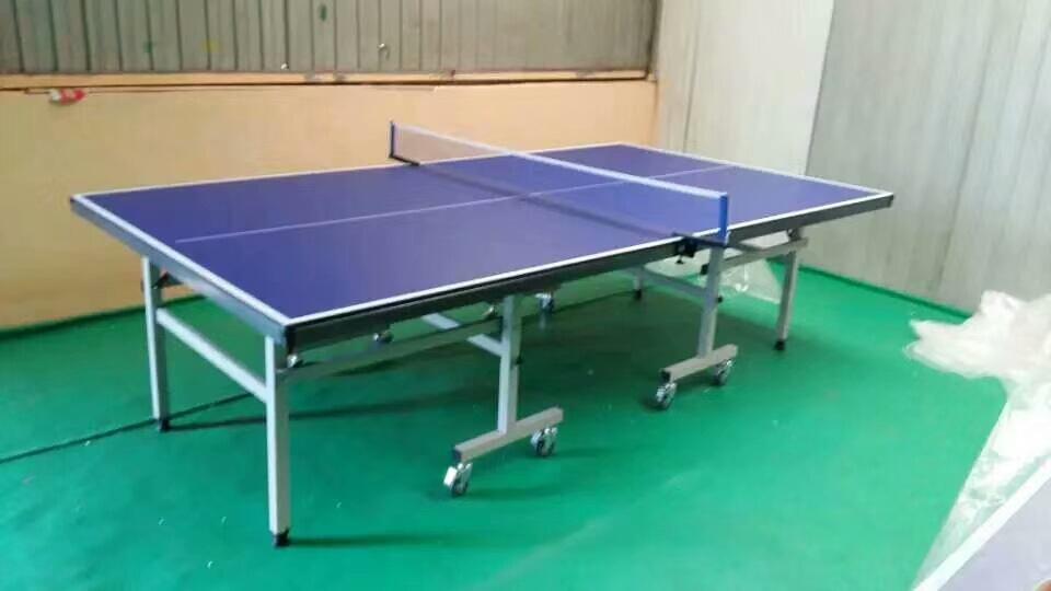 特价供应室内可移动乒乓球桌 家用标准乒乓球台 物美价廉售后无忧示例图4