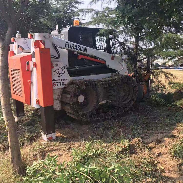 园林果树移植机   带土球挖树   草坪移植机  浣熊
