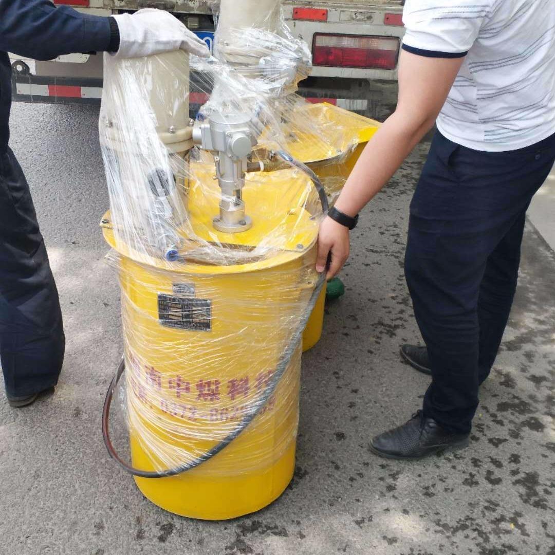 河南中煤科技廠家直供礦用注漿泵獲得 煤安標志ZBQ-30/1.0煤礦用氣動注漿泵