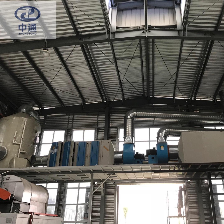 中通销售 ZTHB-100 ZTHB-200 uv光解 光氧催化 喷淋塔 环保废气处理设备