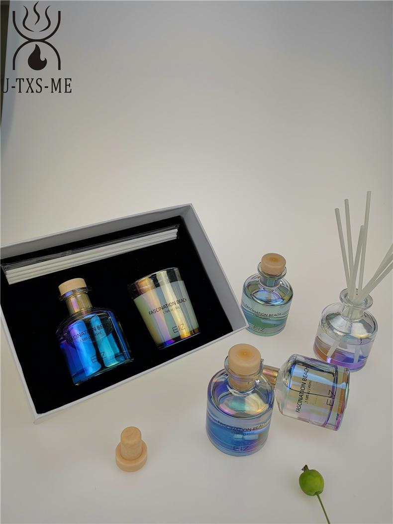 玻璃杯家居植物精油环保进口大豆蜡烛散香器爱博国际lovebet套装伴手礼示例图6