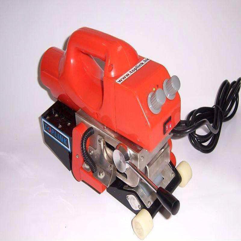 800W小型土工膜焊接机 中瑞复合土工膜专用双轨爬行焊接机