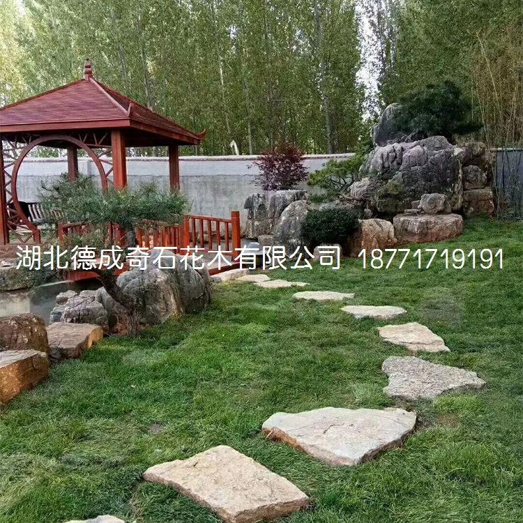 2018年汀步石景墙石批发庭院铺路石示例图5