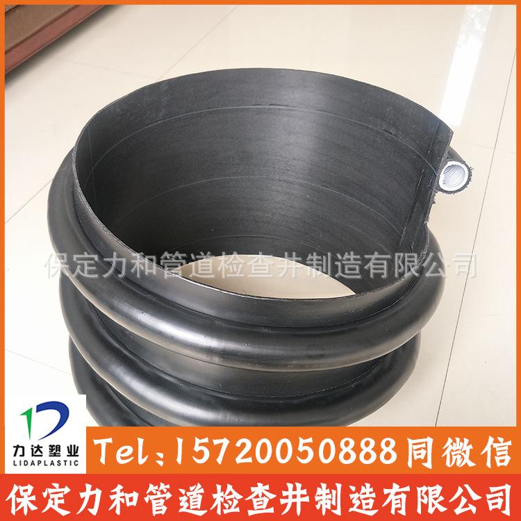 聚乙烯缠绕结构壁B型管 克拉管 100%全新料 零渗漏 耐腐蚀耐酸碱示例图10