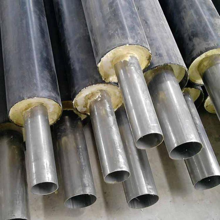 熱力工程埋地聚氨酯保溫鋼管 厚東管道 小區供熱用聚氨酯發泡保溫鋼管 外聚乙烯聚氨酯保溫鋼管 起訂門檻低
