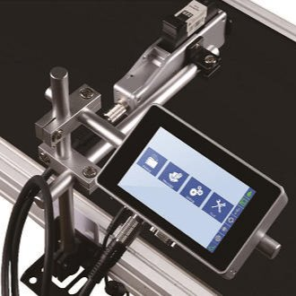 汉思 高解析热发泡喷码机 型号SE-S1 免维护喷码高性价比赋码设备