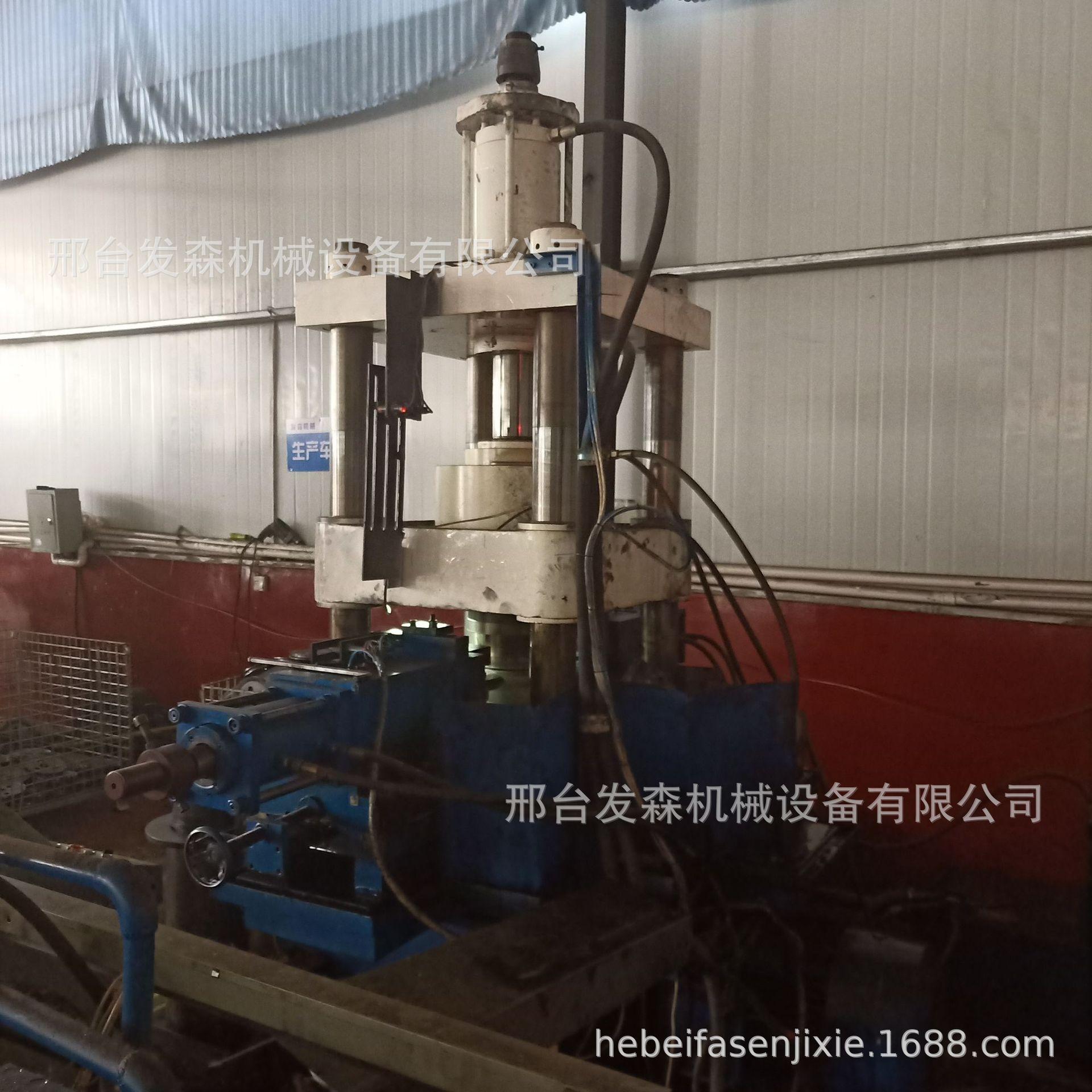 厂家直销定做旋压机  旋压皮带轮制作机械 劈开式皮带轮专用示例图1