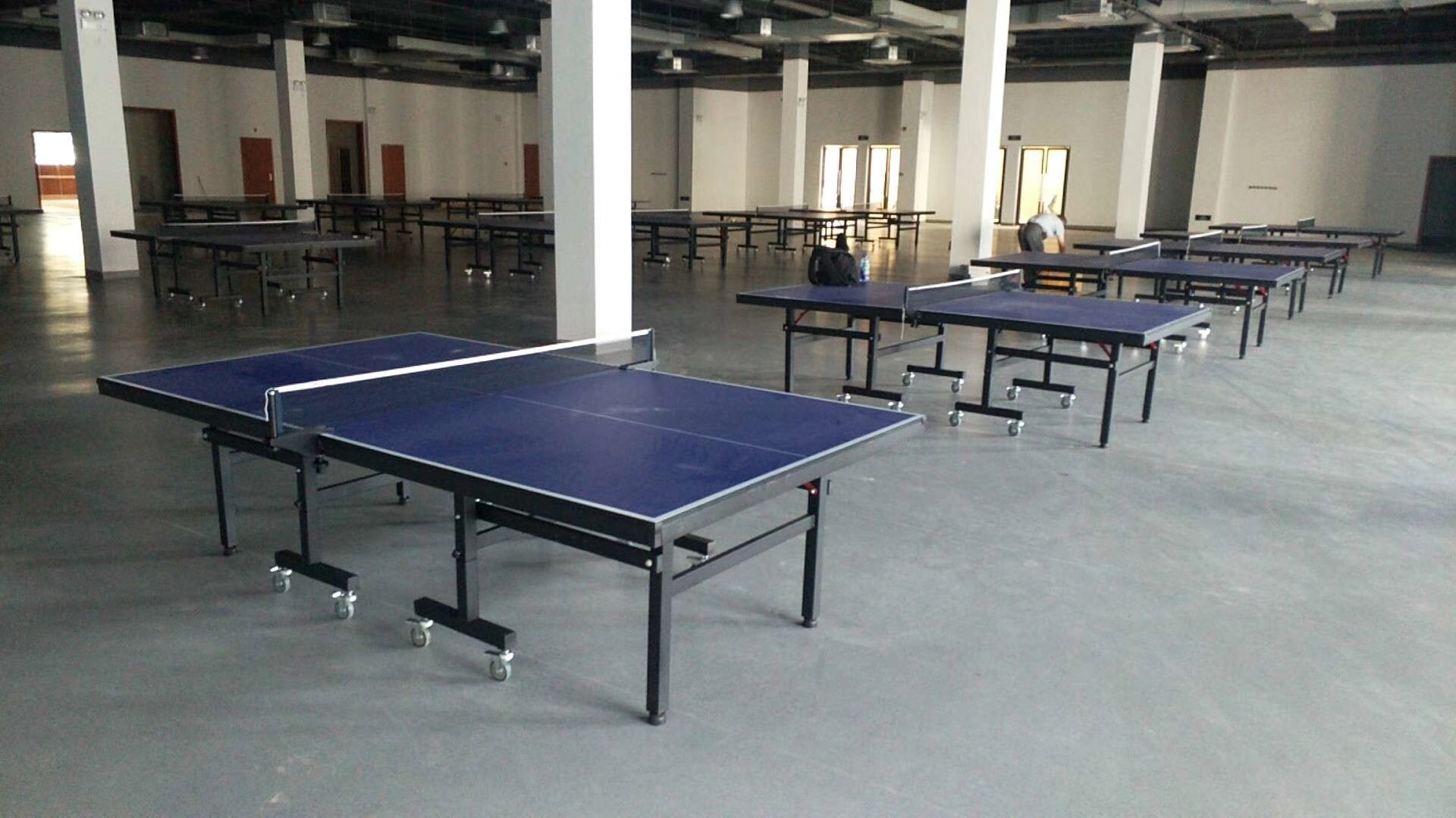 特价供应室内可移动乒乓球桌 家用标准乒乓球台 物美价廉售后无忧示例图12