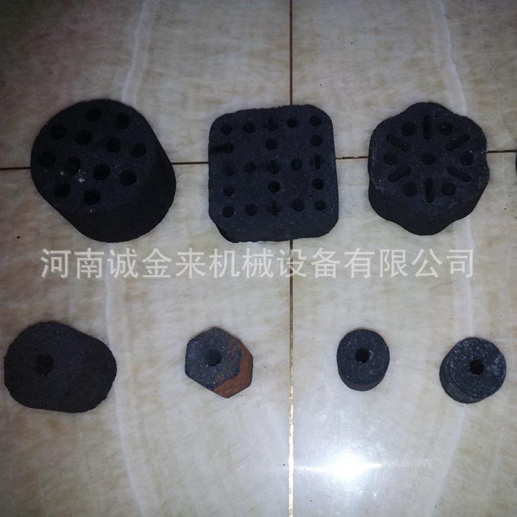 诚金来型煤设备云南蜂窝煤球机 兰炭粉 木炭粉 煤粉冲压成型设备示例图7