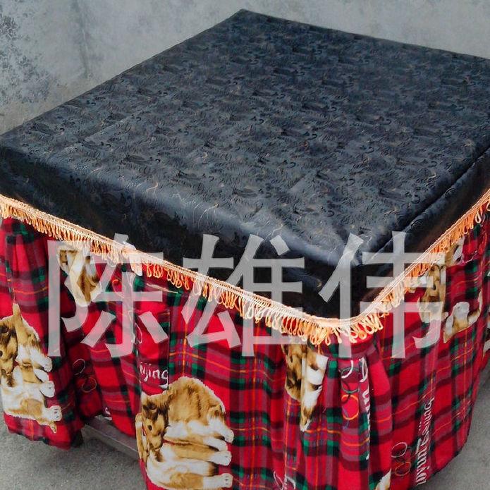 皮革桌布批发 皮革桌布 防尘皮子桌罩 欢迎订购示例图4