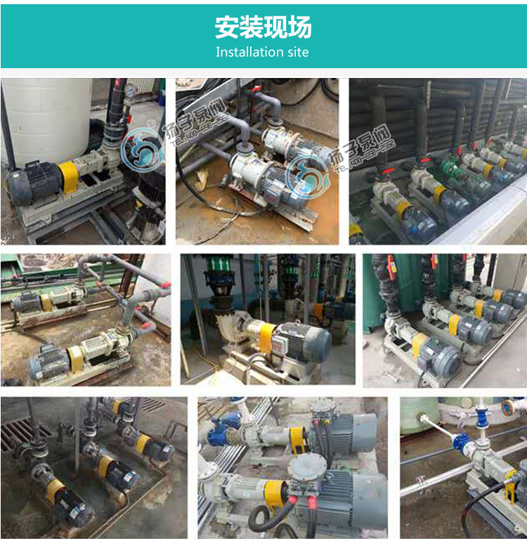 厂家直销 国内磁力泵 防爆不锈钢 耐腐蚀磁力泵 CQB80-65-160P示例图14
