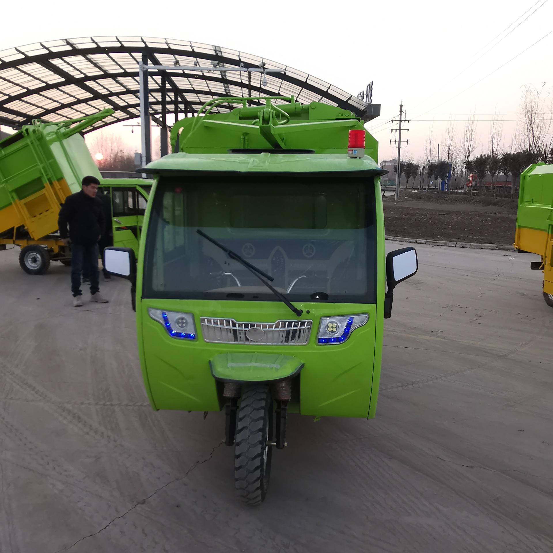 电动挂桶垃圾车 小区物业垃圾清运车 电动拉垃圾车 正谦 质量可靠示例图1