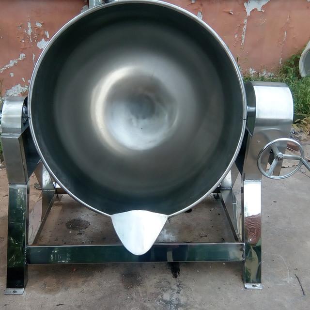 諸城節能夾層鍋 食品鹵煮熬湯夾層鍋 大型廚房設備 蒸煮設備 燃氣夾層鍋