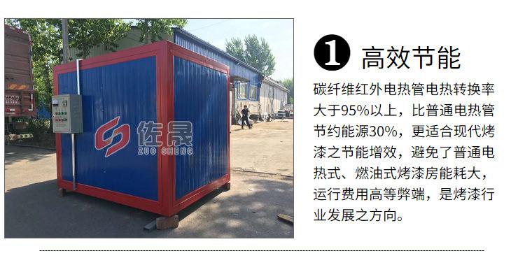 廠家銷售環保高溫烤漆房固化房 支持定制高溫烤漆房示例圖10