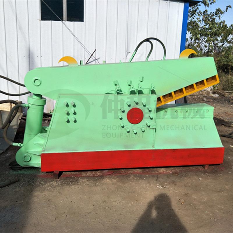 热销废旧金属鳄鱼剪切机 废铁液压鳄鱼剪 300吨钢板边角料剪断机示例图8