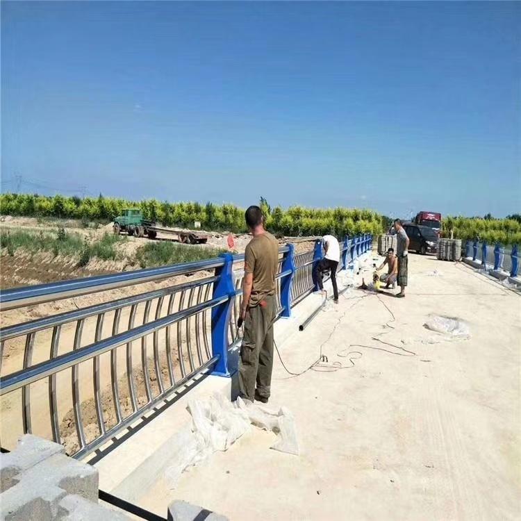 厂家直销景观护栏河道护栏高速护栏景观护栏加工 景观栏杆设计示例图2